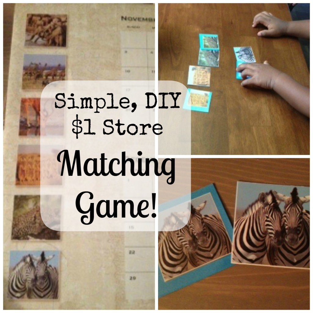 Calendar Matching Game