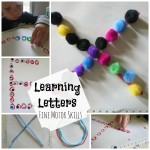 Learning the Shapes of Letters with Manipulatives