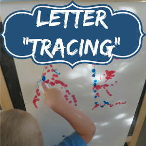 letter tracing s
