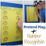 Pretend Play PLUS Number Recognition