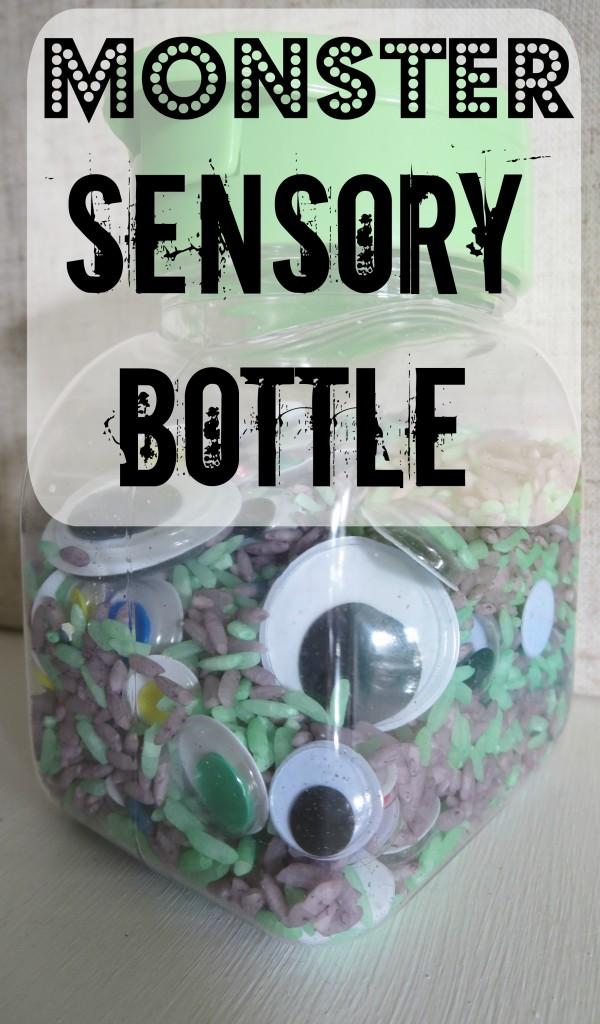 Monster Sensory Bottle
