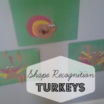 Shape Recognition Turkey Craft