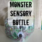 Monster Sensory Bottle