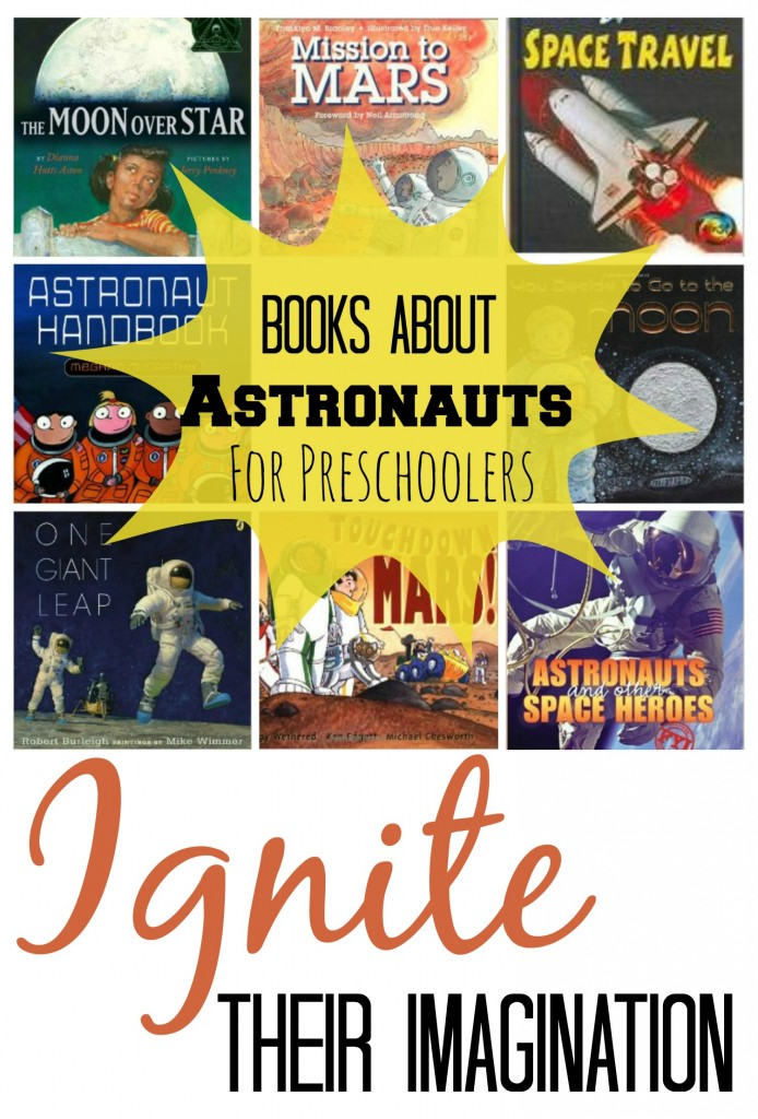 Astronaut Books Pin