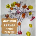 Autumn Craft Fingerprint Trees