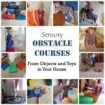 Obstacle Courses for Sensory Input (From Objects You have at Home!)