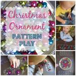 Christmas Ornament Pattern Play