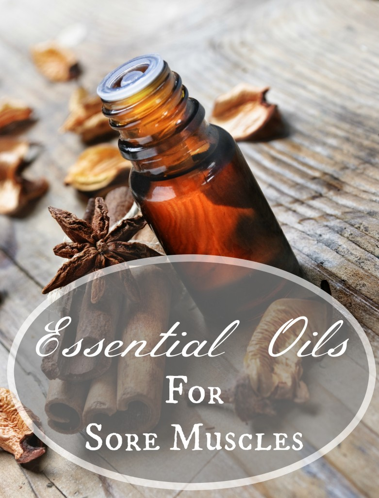 Essential Oils Sore Muscles