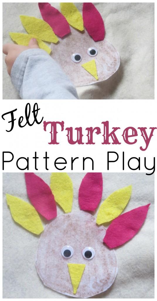 Felt Turkey Pattern Play