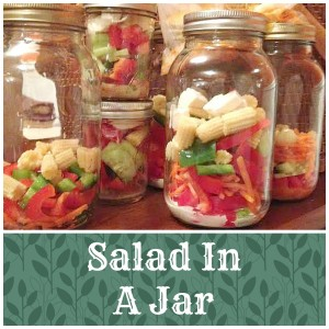 Lunch in a jar s