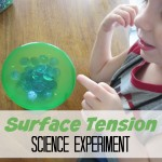 Surface Tension Science Experiments for Preschoolers
