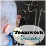 Teamwork Drawing Activity for Preschoolers