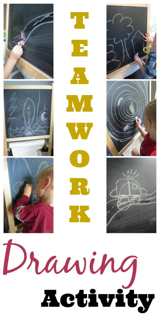 teamwork drawing activity