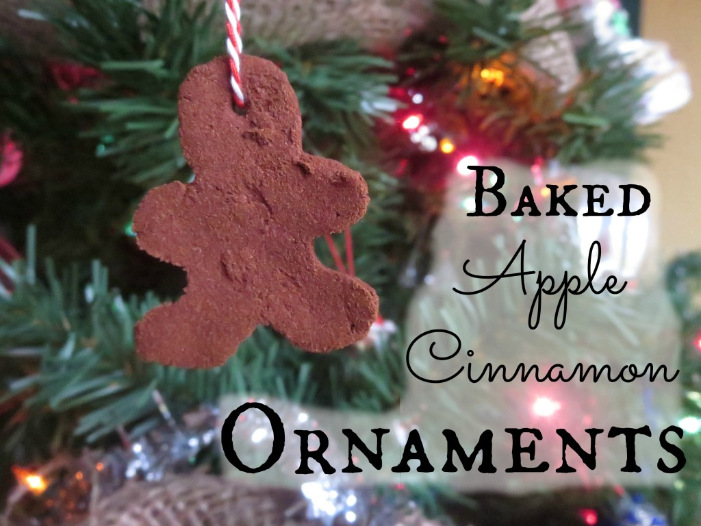 Baked Apple Cinnamon Ornaments