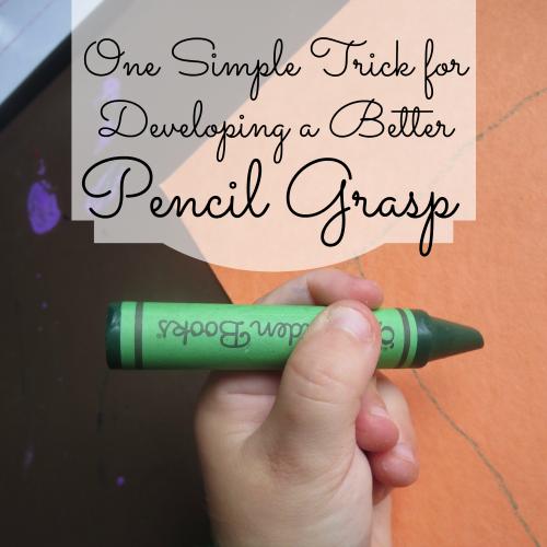 Pencil Grasp S