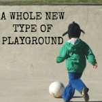 Getting Sensory Input from a WHOLE NEW Type of Playground