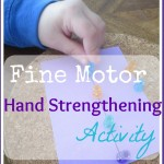 Push Pin Play for Hand Strengthening
