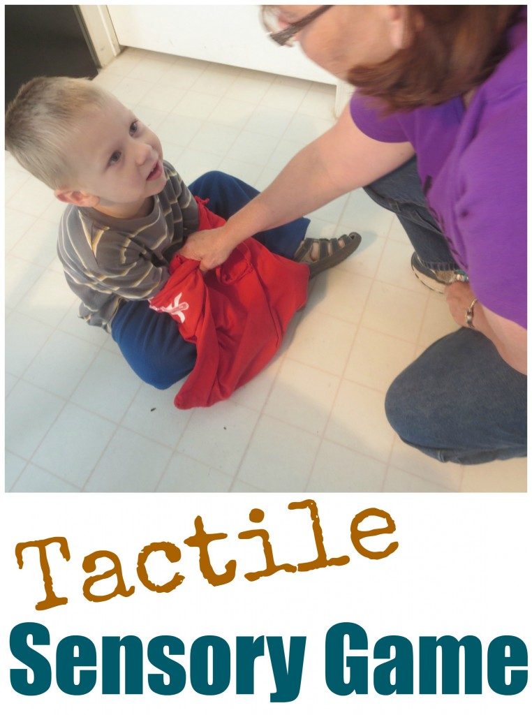 Tactile Sensory Game