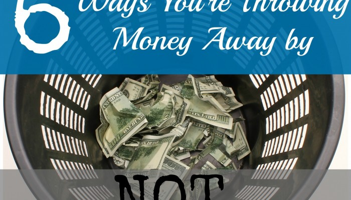 "6 Ways You're Throwing Money Away by NOT ""Going Green"""