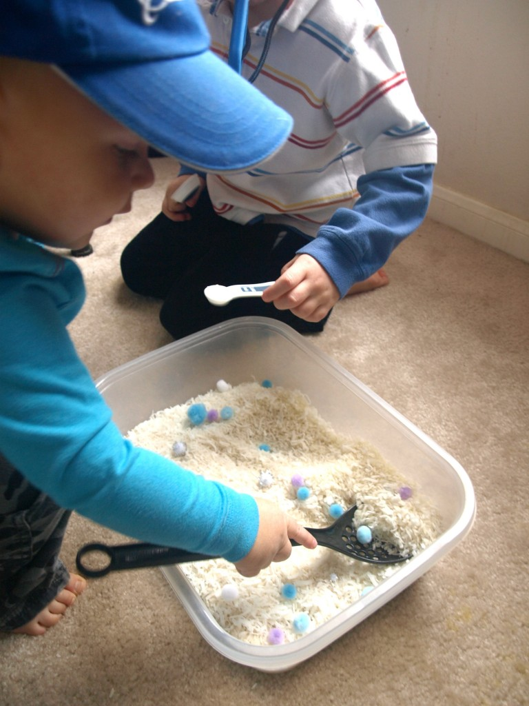 Winter Sensory Bin Edit