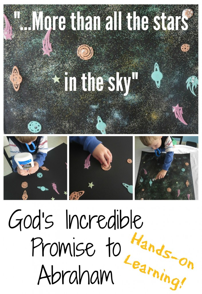 Abraham Isaac God Promise Bible Activity