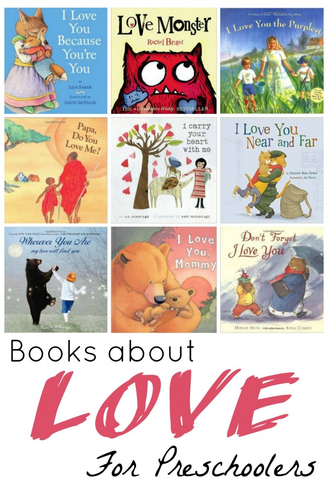 Books About Love For Preschoolers