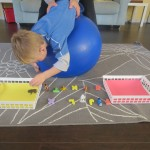 More Ways to Use an Exercise Ball for Sensory Therapy: Getting Prone on the Therapy Ball