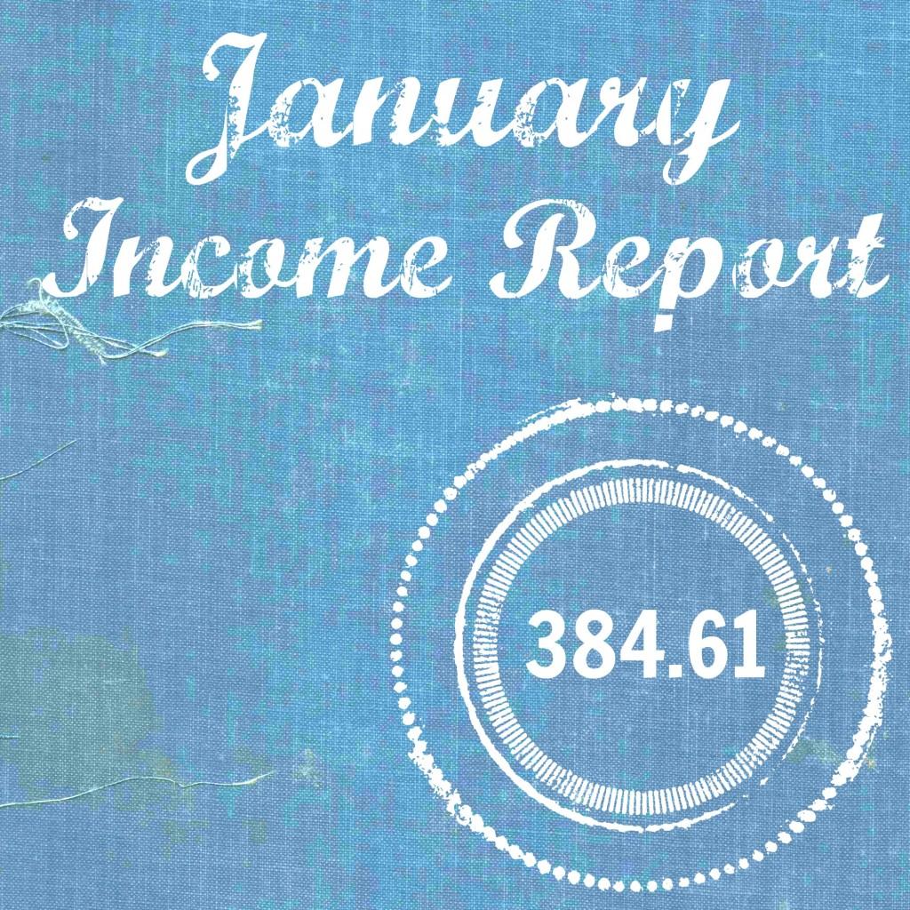 Jan 15 Income Report