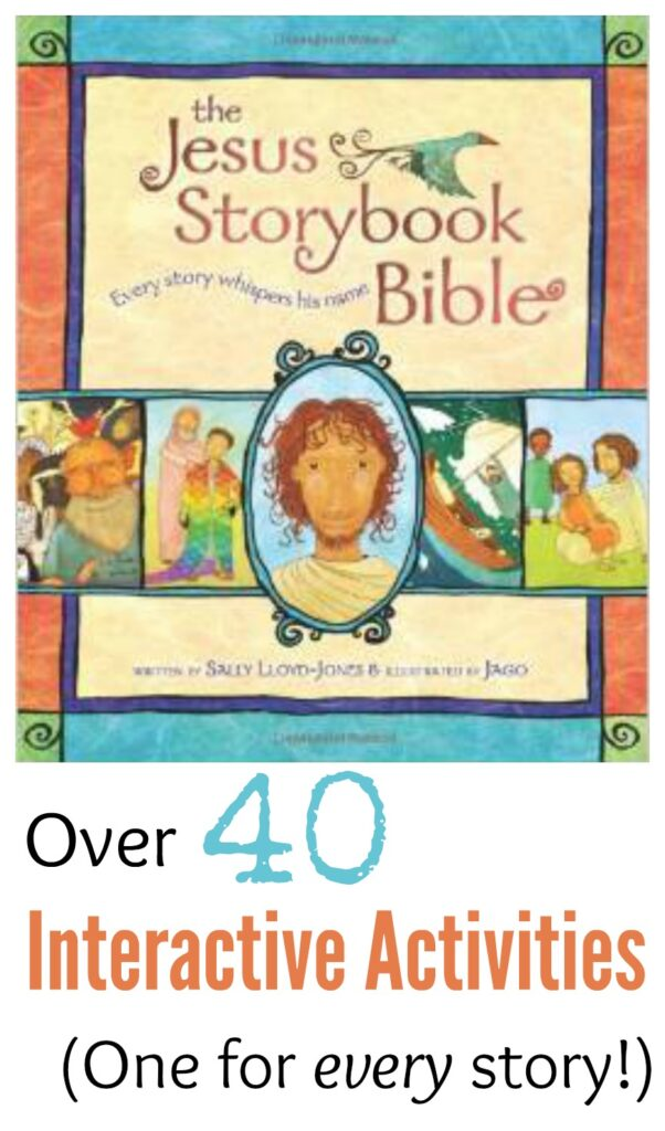 Activity for the Jesus Storybook Bible: Ezra, Nehemiah and