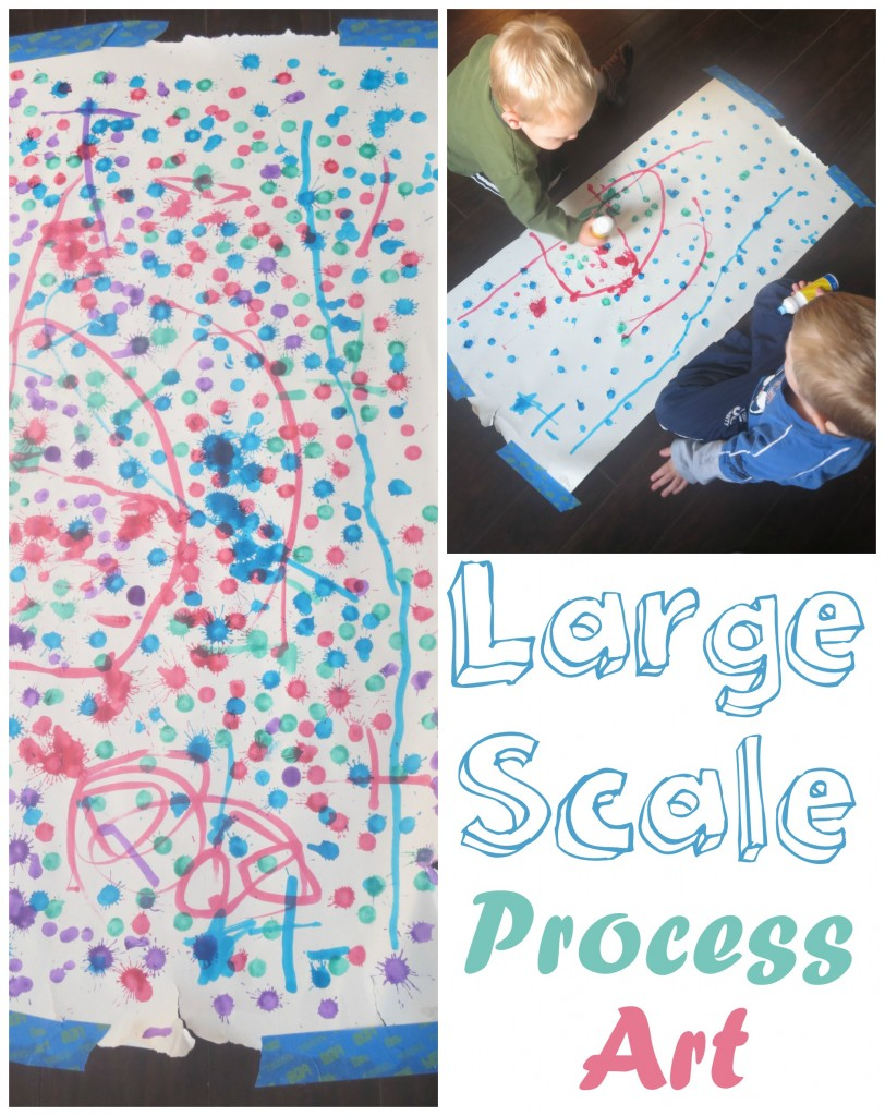 Large Scale Process Art