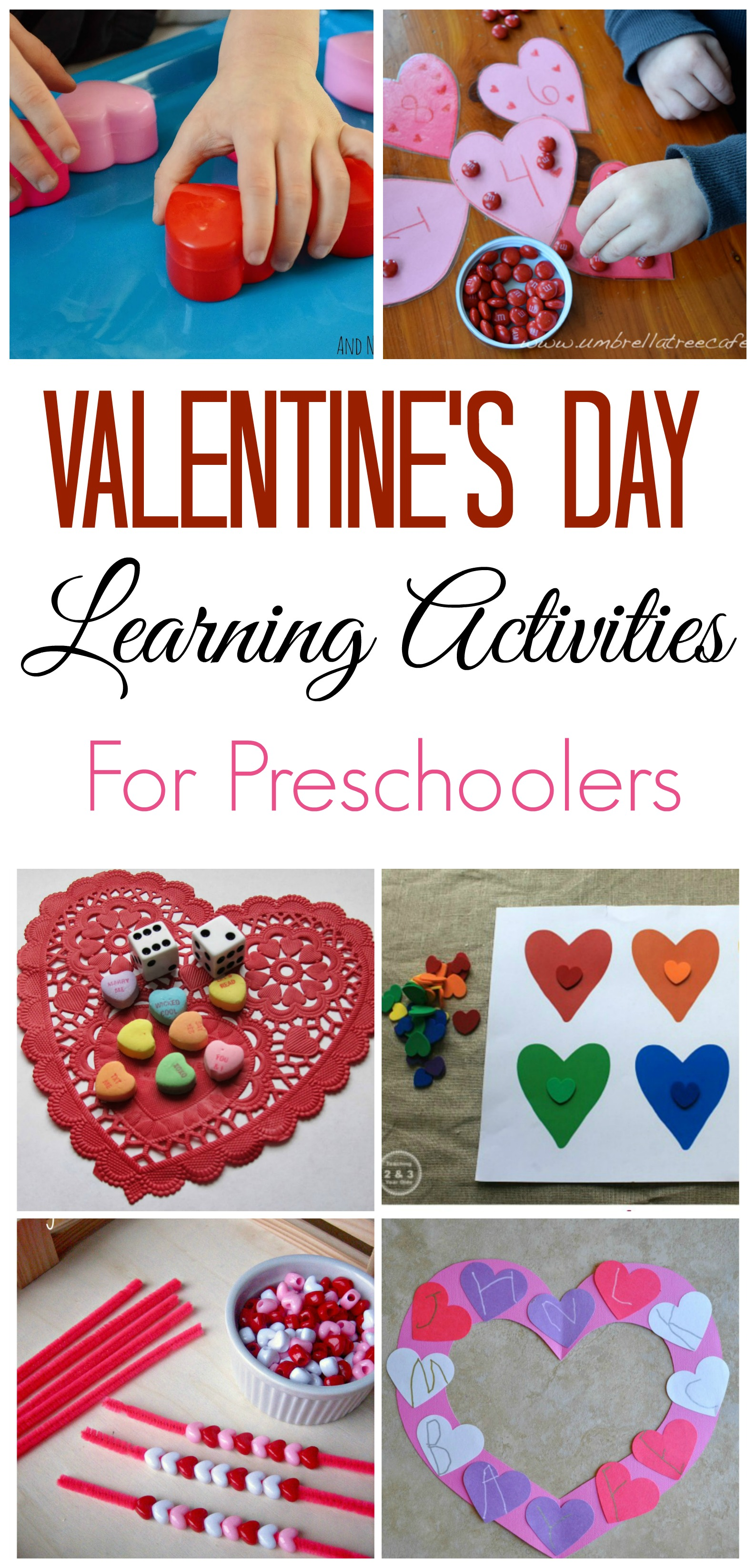 valentine u0027s day learning activities for preschoolers