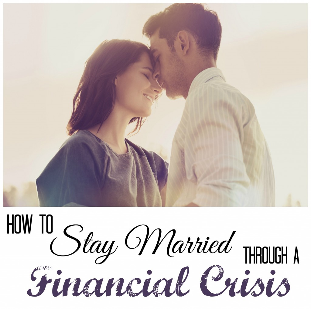 Marriage during financial crisis