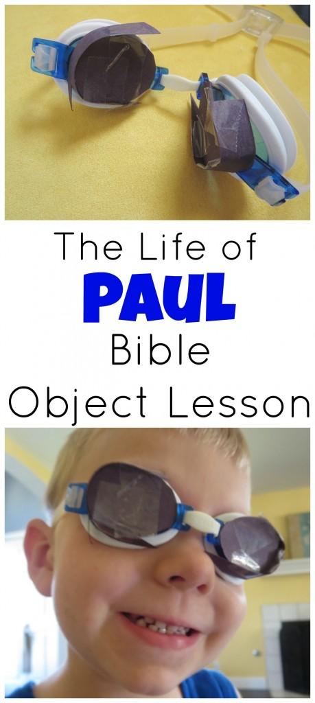 Paul Bible Object Lesson