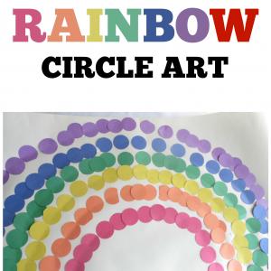 Rainbow Circle Art S