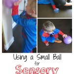 Three Ways to Use a Small Ball for Sensory Therapy