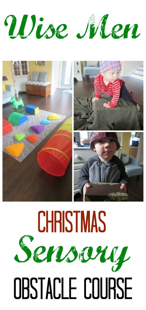 Wise Men Christmas Sensory Play