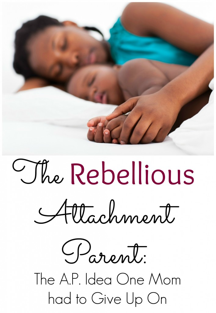 Attachment Parenting Struggles Co-Sleeping