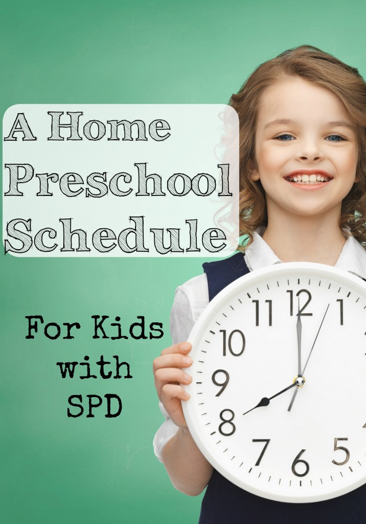 Preschool Schedule SPD