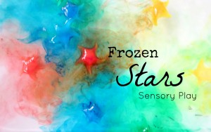 Frozen Stars Sensory Play FB