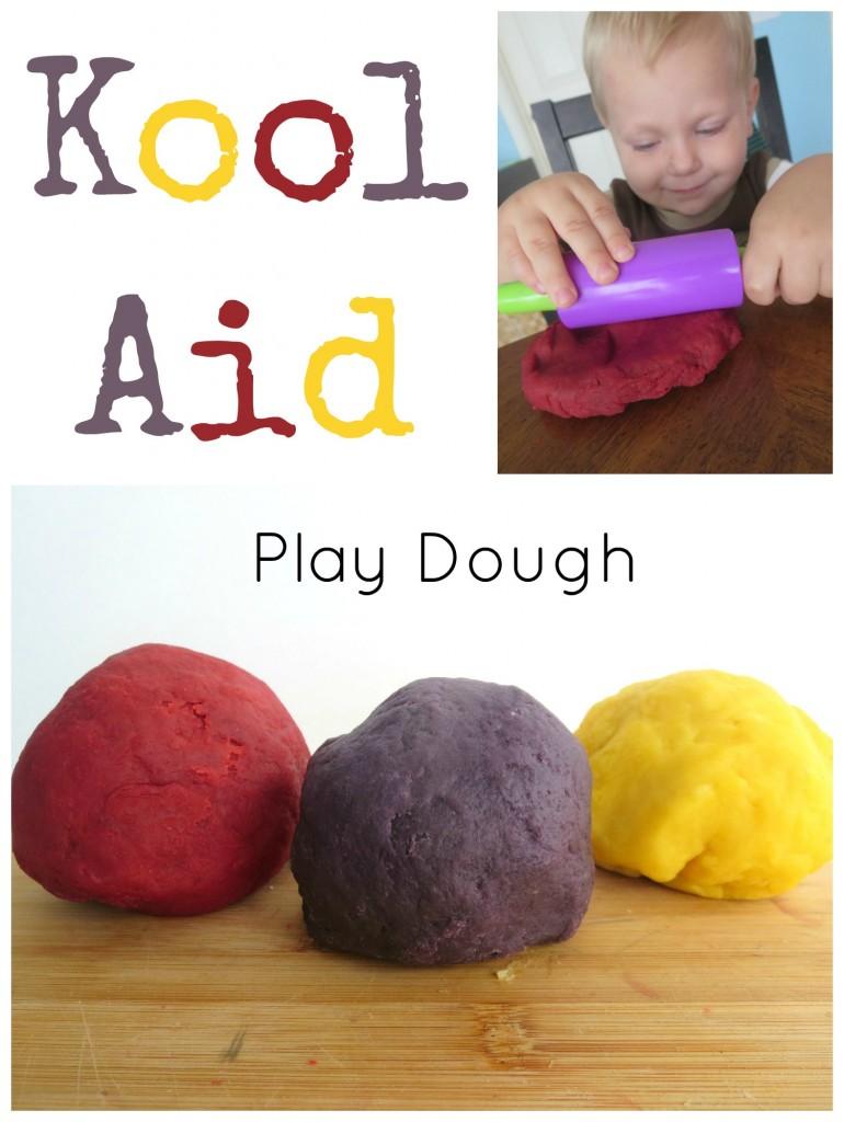 Kool Aid Play Dough Pin
