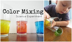 color mixing science experiment H