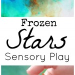 Frozen Stars Sensory Play