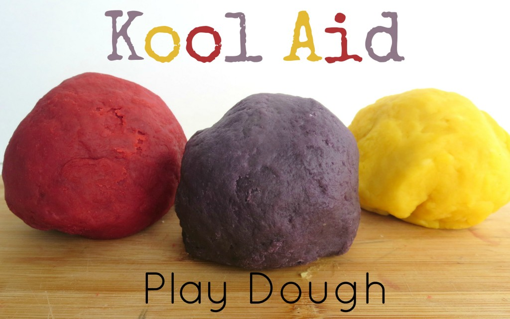 kool aid play dough feature