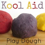 No Cook Kool Aid Play Dough