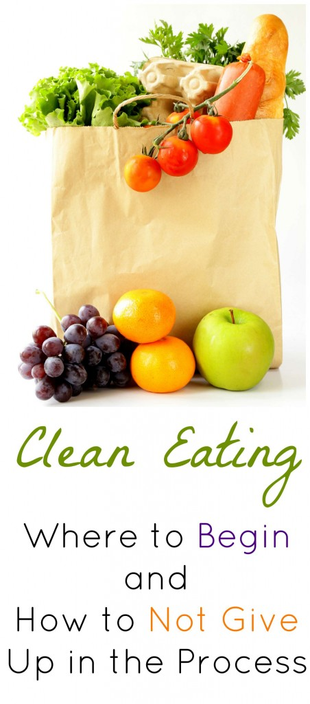 Clean Eating Where to Begin Pin