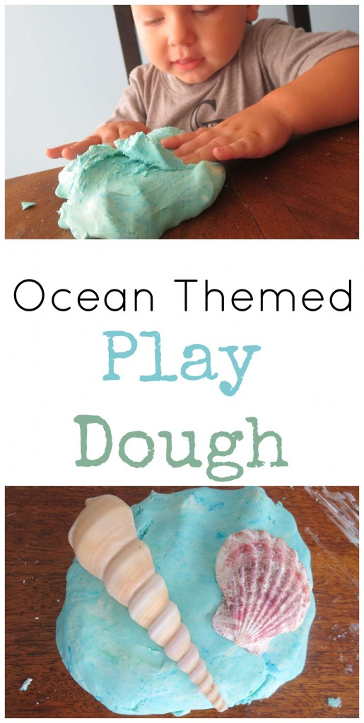 Ocean Theme Play Dough