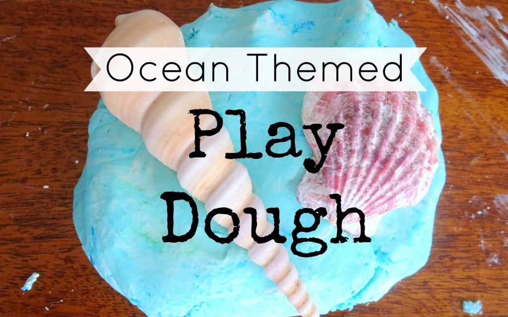 Ocean theme play dough fb