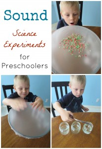 Sound Science Experiments for Preschoolers