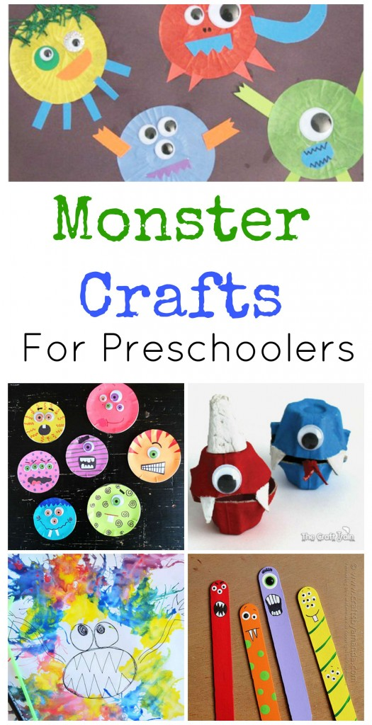 Preschool Monster Crafts