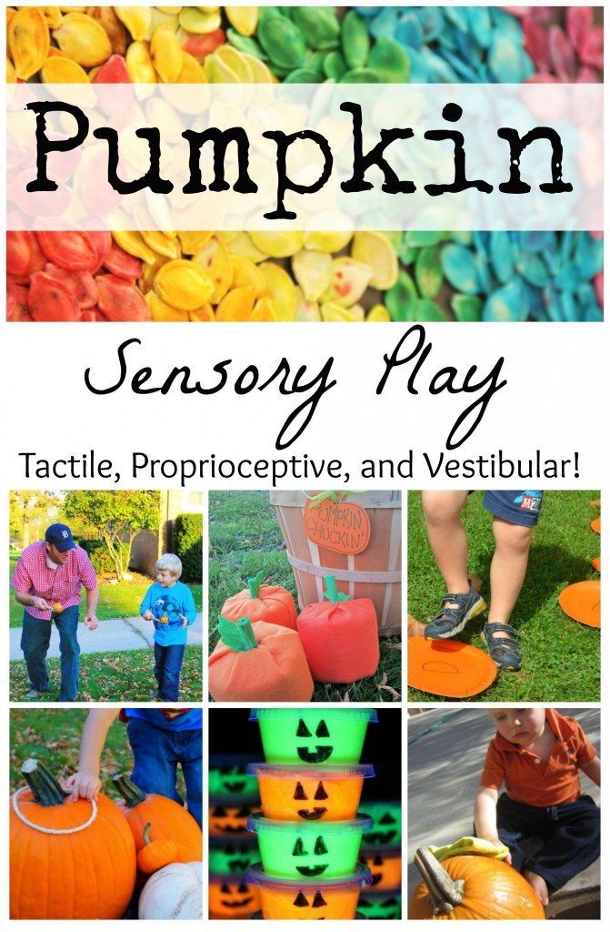 Pumpkin Sensory Play PIN